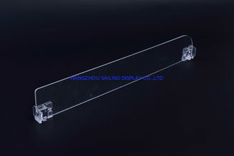 Cina Disesuaikan Shelf Pusher Divider, Acrylic Shelf Divider, Shelf data Jalur Divider pemasok