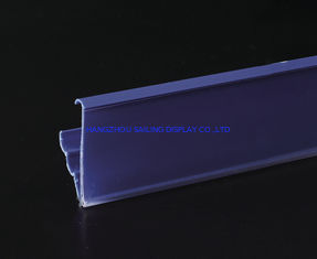 Cina Promotional Plastic Recycling Shelf Data Strips , Magnet Sticked Accessory pemasok