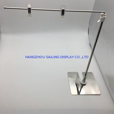 Cina Retail Display Systems POS Poster A4 A3 Sign Holder , Table Top Sign Holders pemasok