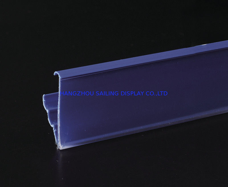 Promotional Plastic Recycling Shelf Data Strips , Magnet Sticked Accessory pemasok